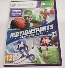 Motionsports Play for Real Xbox 360-Neu (versiegelt)