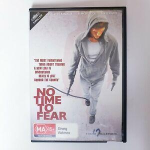 No Time To Fear Movie DVD Region 4 AUS - Free Postage Thriller