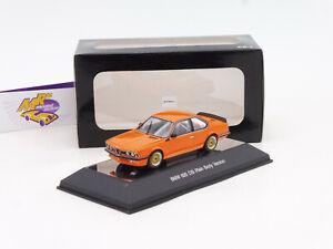 "AUTOart 68448 # BMW 635 CSi Baujahr 1984 Plain Body Version "" orange "" 1:43 NEU"