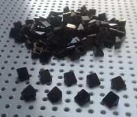 Lego Black 1x1 2/3 Slope Brick Cheese Wedge (54200) x20 in a set *BRAND NEW*