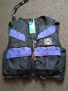 """""""Wild Water""""Specialist  Canoeists Buoyancy Aid, Load of Features,see Description"""