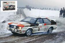 Audi Quattro Rally Monte Carlo 1981 Plastic Kit 1:24 Model ITALERI
