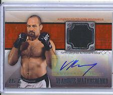 Vladimir Matyushenko 11 UFC Title Shot Auto/Gear Card