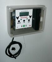 HenSafe Chicken Coop Opener. Timer and Remote Light Sensor: Heavy 5Kg lift.