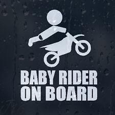 BABY RIDER A Bordo Auto Decalcomania Adesivo Vinile