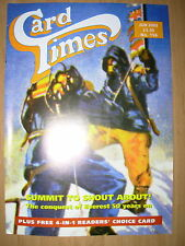 CARD TIMES MAGAZINE FORMERLY CIGARETTE CARD MONTHLY No 156 JUNE 2003