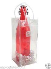 OFFERTA N.6 Secchielli Borsa portaghiaccio Ice bag® trasparente ORIGINALE