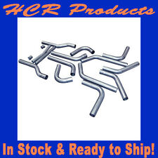"""Flowmaster U-Fit Universal 2.5"""" Dual Exhaust Pipes Header-Back Stainless 815936"""