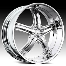 "24"" Custom Chrome BOSS 333 Wheels 5 or 6 lug"