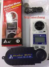 Anemometer Temperature Dew Point Humidity Barometric Pressure 4in1 Meter Tester