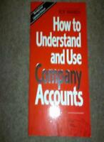 How To Understand And Use Company Accounts,Roy Warren- 9780091746056