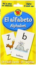 El Alfabeto Alphabet Brighter Child Flash Cards