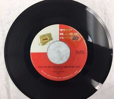 What In The World's Come Over You/Baby Baby by Jack Scott 45 RPM
