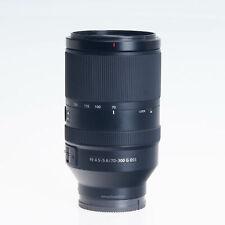 Sony FE 70-300mm F4.5-5.6 G OSS Telephoto Zoom Lens SEL70300G