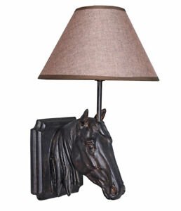 Hanging Light Country Style Floor Lamp Wall Lamp Horse Head Hanging Lamp