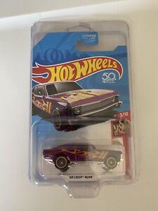 hot wheels super treasure hunt 68 chevy nova