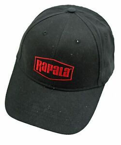CAP - RAPALA FISHING HAT ADULT BLACK/RED