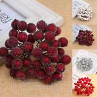 40pcs Christmas Foam Fruit Artificial Berry Flower Home Decor high quality