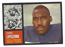 1962 Topps Gene Lipscomb #133 - Steelers EX-MT