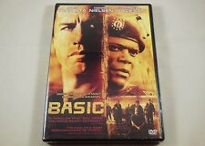 Basic DVD John Travolta, Samuel L. Jackson, Connie Nielsen, Tim Daly