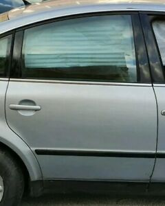 VW Passat 1.8T Silver 2004. Complete O/S driver side rear back door. Exc cond.