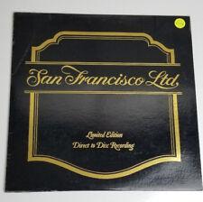 San Francisco Ltd Direct to Disc Recording white vinyl LP 45 RPM CCS 5004