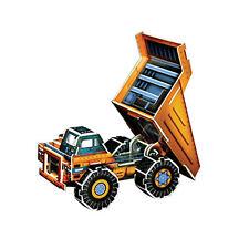 Pop Out World Construction Dump Truck 3D Model DIY Hobby Build Kit