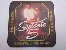 FRENCH Beer Coaster ~ Grain d'Orge (Brasseurs De Gayant) Septante 5 Ambree Biere