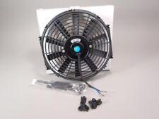 "10"" Engine Cooling Fan 12 VDC 1350 CFM Radiator Racing FAN Slim Universal, Honda"