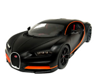 Bburago 1:18 Bugatti Chiron Sport Matte Black Diecast Model Racing Car IN STOCK