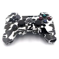 Six Axis Dualshock Wireless Bluetooth Game Controllers for PS3 (Black and White)