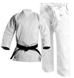 adidas Karate Heavyweight Kata Champion Gi, 14oz American Cut Uniform