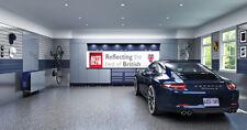 auto glym clean Garage Banner PVC Sign, Workshop, office, pit lane, man cave