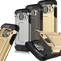 Handy Schutz Hülle für Samsung Galaxy S5 Case Cover Bumpér Hybrid Armor Cover