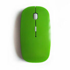 Mini souris sans fil - Bluetooth 2.4 - pour PC portable + dongle Bluetooth Vert