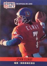 Lot Of 85 1990 Pro Set Football  John Elway Card # 88