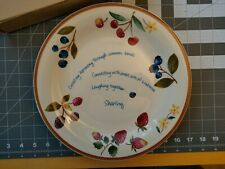 Longaberger Pottery Berry Serving Plate