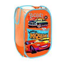 Disney Cars Boys Bedroom Pop Up Folding Car Organizer Toys Storage Basket a984