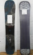 New 2017 Burton Process Off-Axis Mens ICS Snowboard 155 cm