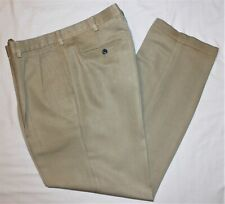 Ping Pleated Men's Beige Golf Pants Size 36 X 32