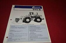 Fiat Allis Chalmers 945-B Wheel Loader Dealer's Brochure DCPA2 ver2