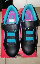 Kids Puma Drift Cat 6 Diamon Size 13.5 Black with pink and blue