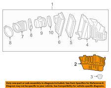 GM OEM Air Cleaner Box-Lower Bottom Housing Body 15871616