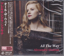 Alexandra Shakina All The Way Japan Venus Records Audiophile Jazz CD New Sealed