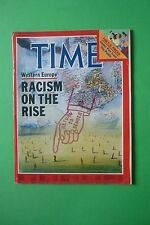 Magazine Time N.50 December 12 1983 Western Europe Racism on the Rise