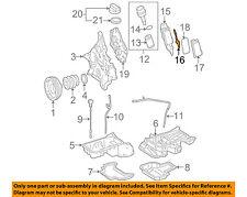MERCEDES OEM 06-11 E350 3.5L-V6 ENGINE-Oil Filter Housing Gasket 2721840080