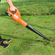 Cordless Leaf Blower Sweeper with 120 Mph Blower Battery and Charger Sale Event