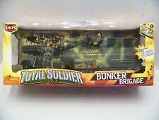 LANARD TOYS THE CORPS TOTAL SOLDIER BUNKER BRIGADE AMPHIBIOUS RECOIL TANK SET