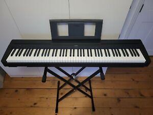 Yamaha P45B Weighted Action Digital Piano, 88 Key - Black