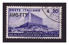 Trieste A  1951 - Consacrazione dell'Ara Pacis.